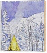 New Yorker February 6th 1978 Wood Print