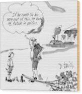 New Yorker February 9th, 1998 Wood Print