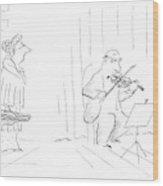 New Yorker January 12th, 1987 Wood Print