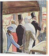 New Yorker January 14th, 1933 Wood Print