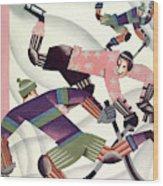 New Yorker January 15th, 1927 Wood Print