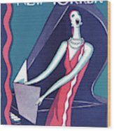 New Yorker January 16th, 1926 Wood Print
