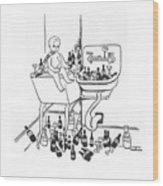 New Yorker January 1st, 1938 Wood Print