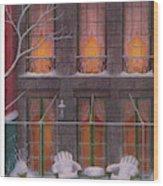 New Yorker January 21st, 1956 Wood Print