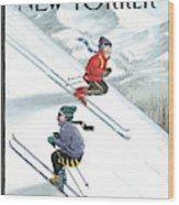 New Yorker January 24th, 2000 Wood Print