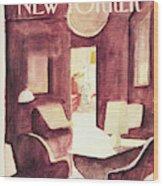 New Yorker January 25th, 1982 Wood Print