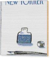 New Yorker January 25th, 1988 Wood Print