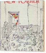 New Yorker January 5th, 1981 Wood Print