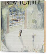 New Yorker January 5th, 1987 Wood Print
