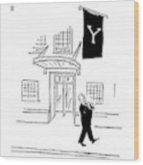 New Yorker July 10th, 1954 Wood Print