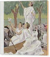 New Yorker July 1st, 1933 Wood Print