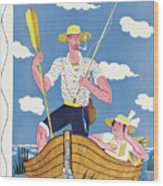 New Yorker July 30th, 1932 Wood Print