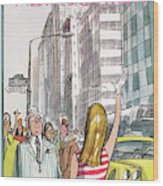 New Yorker July 8th, 1972 Wood Print