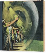 New Yorker June 15th, 1957 Wood Print