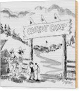 New Yorker June 16th, 1997 Wood Print