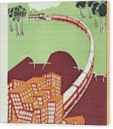 New Yorker June 19 1926 Wood Print