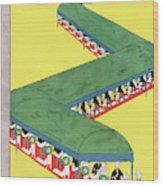 New Yorker June 21st, 1930 Wood Print