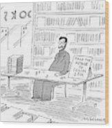 New Yorker June 22nd, 1998 Wood Print