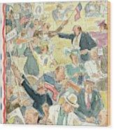 New Yorker June 24th, 1944 Wood Print