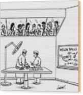 New Yorker June 24th, 1991 Wood Print