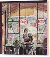 New Yorker June 29th, 1935 Wood Print