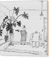 New Yorker June 29th, 1992 Wood Print