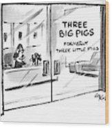 New Yorker June 7th, 1999 Wood Print