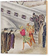 New Yorker March 1st, 1941 Wood Print