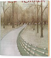 New Yorker March 24th, 1975 Wood Print