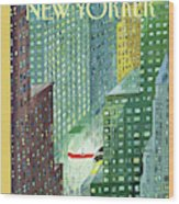 New Yorker March 28th, 1994 Wood Print