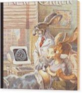 Easter Egg Wood Print