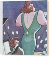 New Yorker March 3rd, 1928 Wood Print