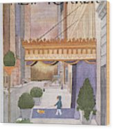 New Yorker March 8th, 1976 Wood Print