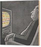 New Yorker May 14th, 1955 Wood Print
