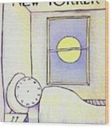 New Yorker May 15th 1971 Wood Print