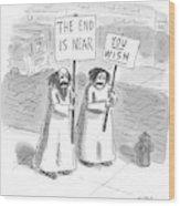 New Yorker May 19th, 1997 Wood Print