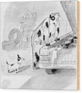 New Yorker May 23rd, 2005 Wood Print