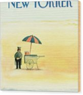 New Yorker May 25th, 1987 Wood Print