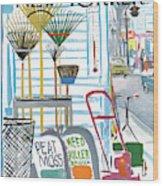 New Yorker May 7th, 1966 Wood Print
