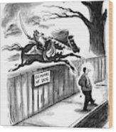 New Yorker November 14th, 1994 Wood Print