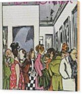 New Yorker November 19th, 1966 Wood Print