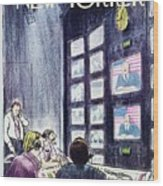 New Yorker November 1st 1976 Wood Print