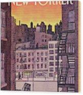 New Yorker November 25th, 1985 Wood Print