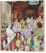 New Yorker November 27th, 1971 Wood Print