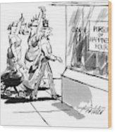 New Yorker November 28th, 1994 Wood Print by Mischa Richter