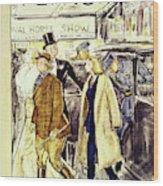 New Yorker November 5 1938 Wood Print