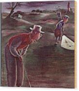 New Yorker October 1st, 1938 Wood Print