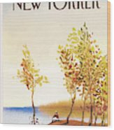 New Yorker October 1st, 1984 Wood Print