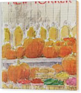 New Yorker October 25th, 1976 Wood Print
