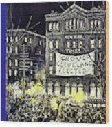 New Yorker October 31 1936 Wood Print
